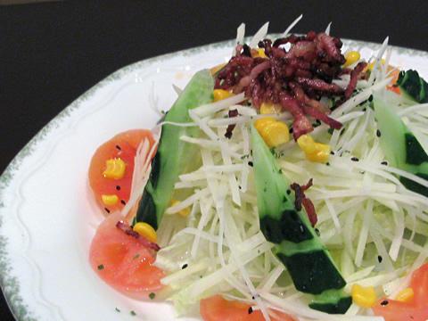 前菜。サラダ
